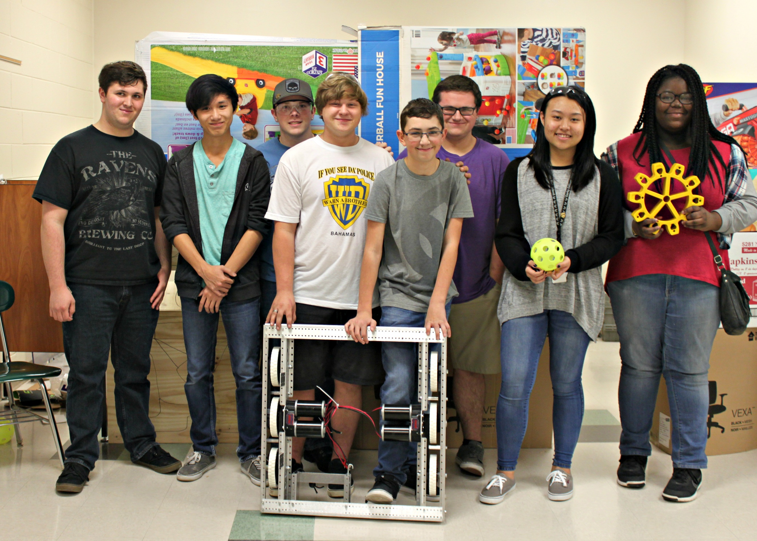 Robotics Team for Brunswick County