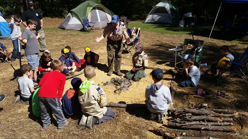 Cub Scouts and Boy Scouts in Leland, NC