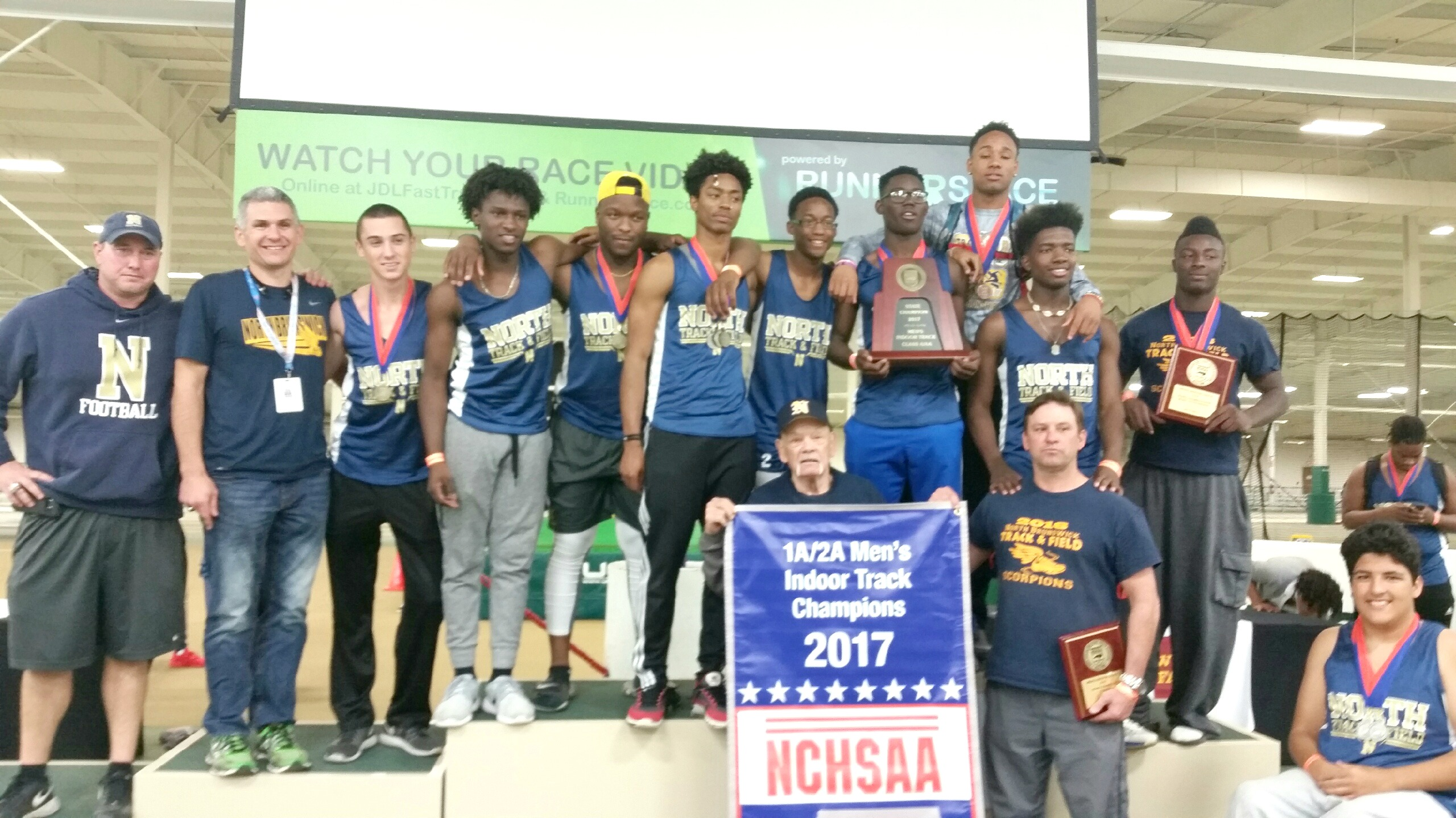 North Brunswick High School Track Team