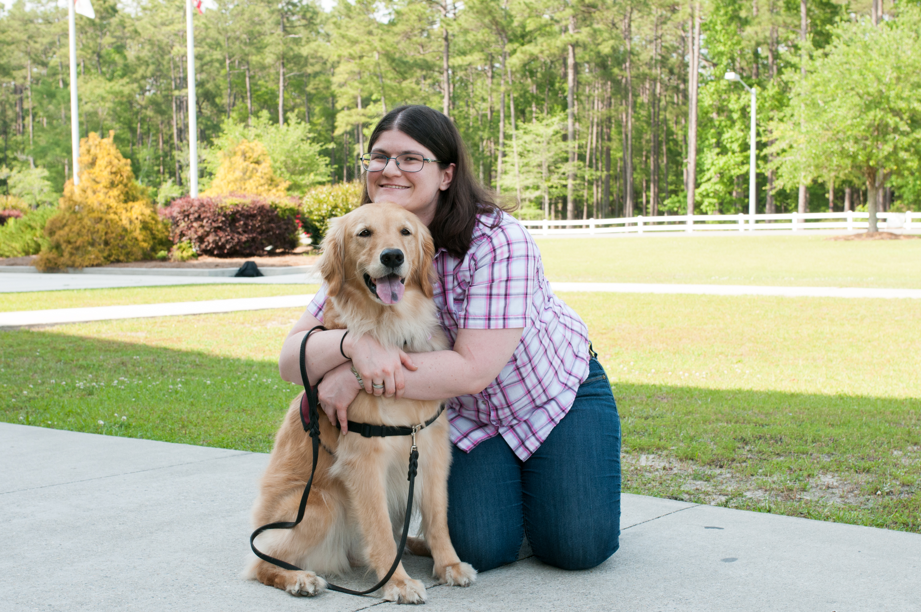 Jon David Brunswick Co DA service dog program (13)