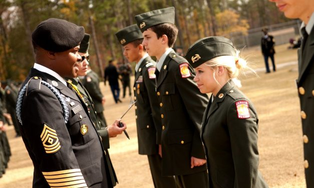Training Tomorrow's Leaders: North Brunswick High School JROTC