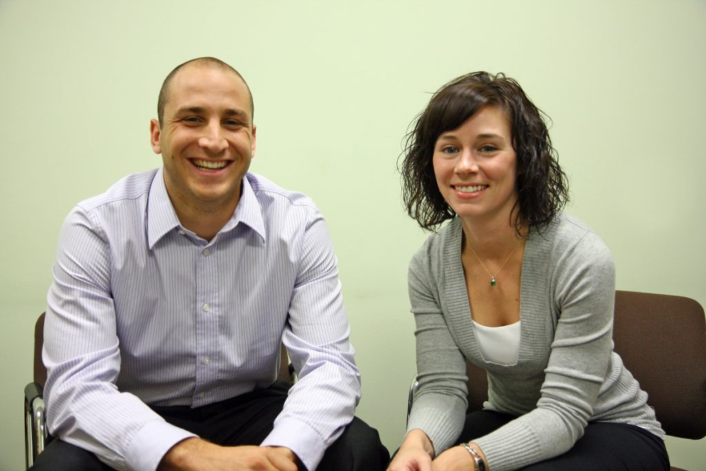 Pam Betz and Chris Rizzo