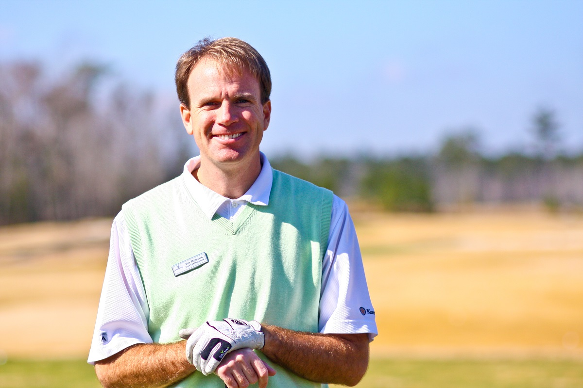 Ron Thomason, Golf Pro at Cape Fear National Golf Course