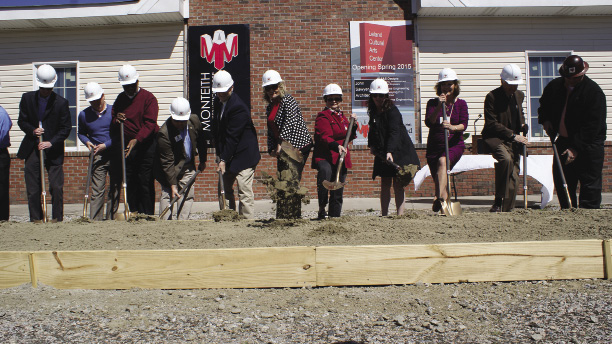 Leland Cultural Arts Center Ground Breaking