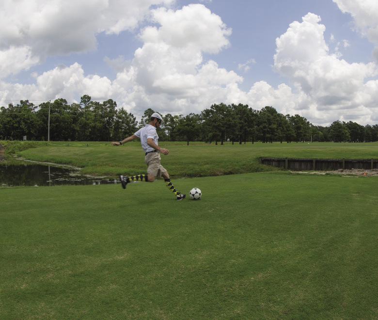 FootGolf at Meadowlands in Calabash NC