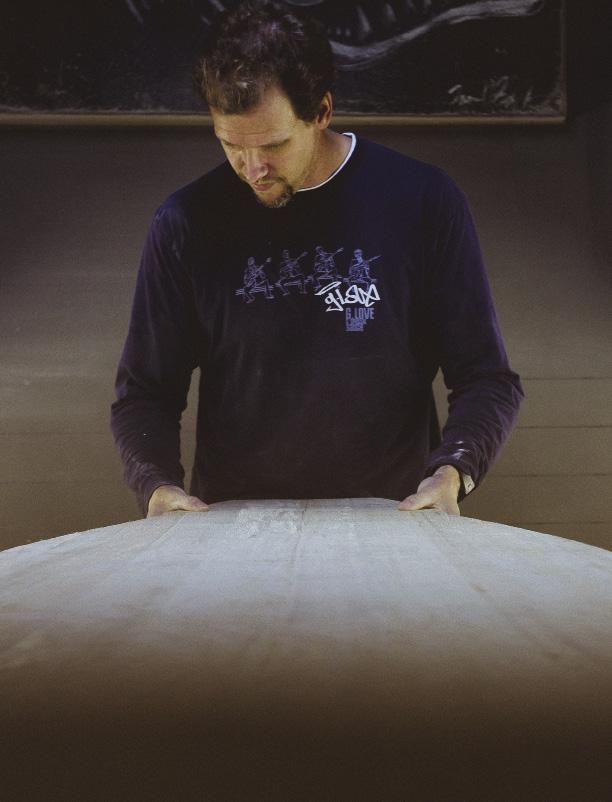 Ian Balding Surfboard Shaper