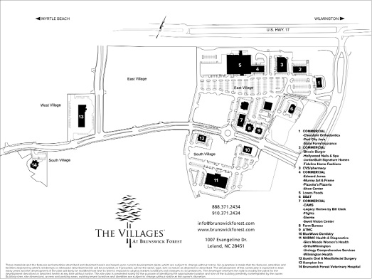 The Villages Brunswick Forest Plan