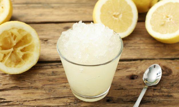 Gin-Spiked Slushy