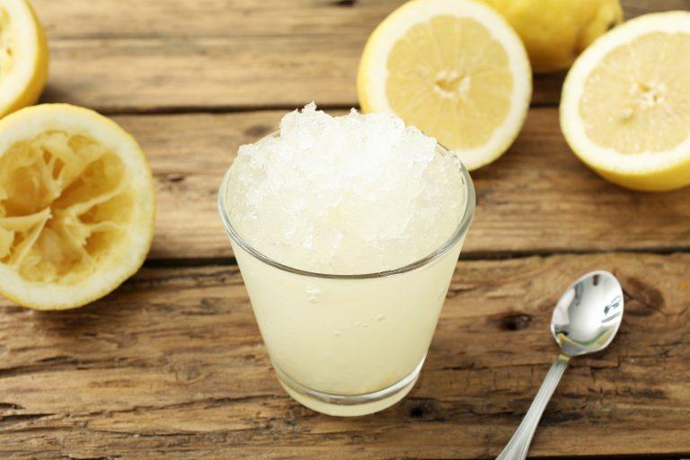 Gin-Spiked Slushy Recipe