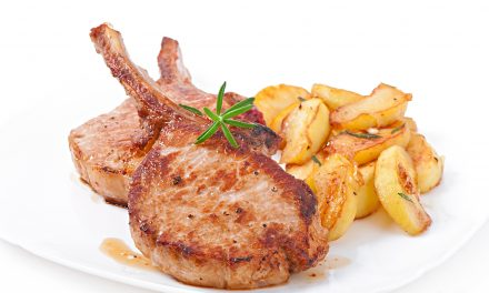 Pork Chops and Baked Apples