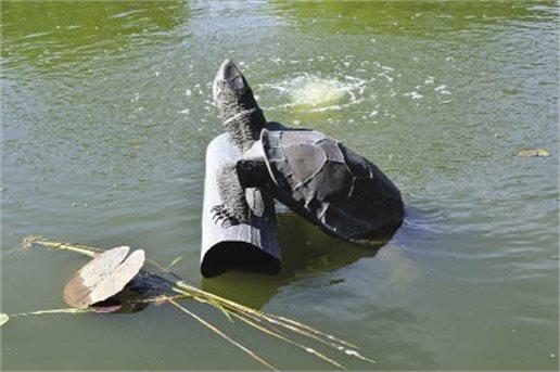 Turtle Tribute : Sculptor A. Dumay Gorham III