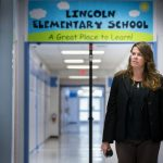 Lincoln Elementary School's Molly White is Principal of the Year