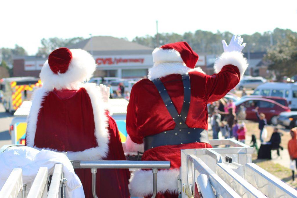 Santa Claus Visits Leland, NC