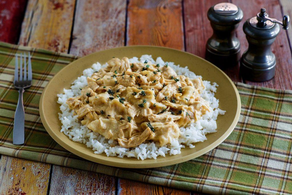 Crockpot Chicken n Dumplings