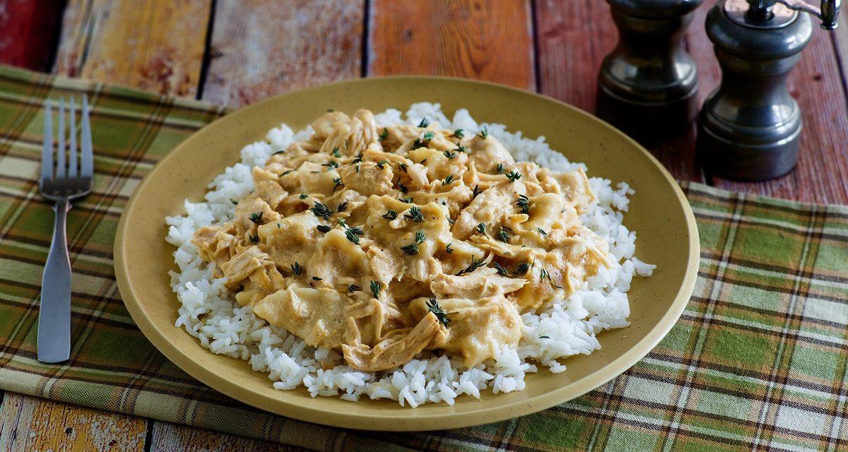 Crockpot Chicken 'n Dumplings