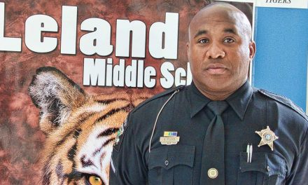 Meet Deputy Arnold Floyd at Leland Middle School