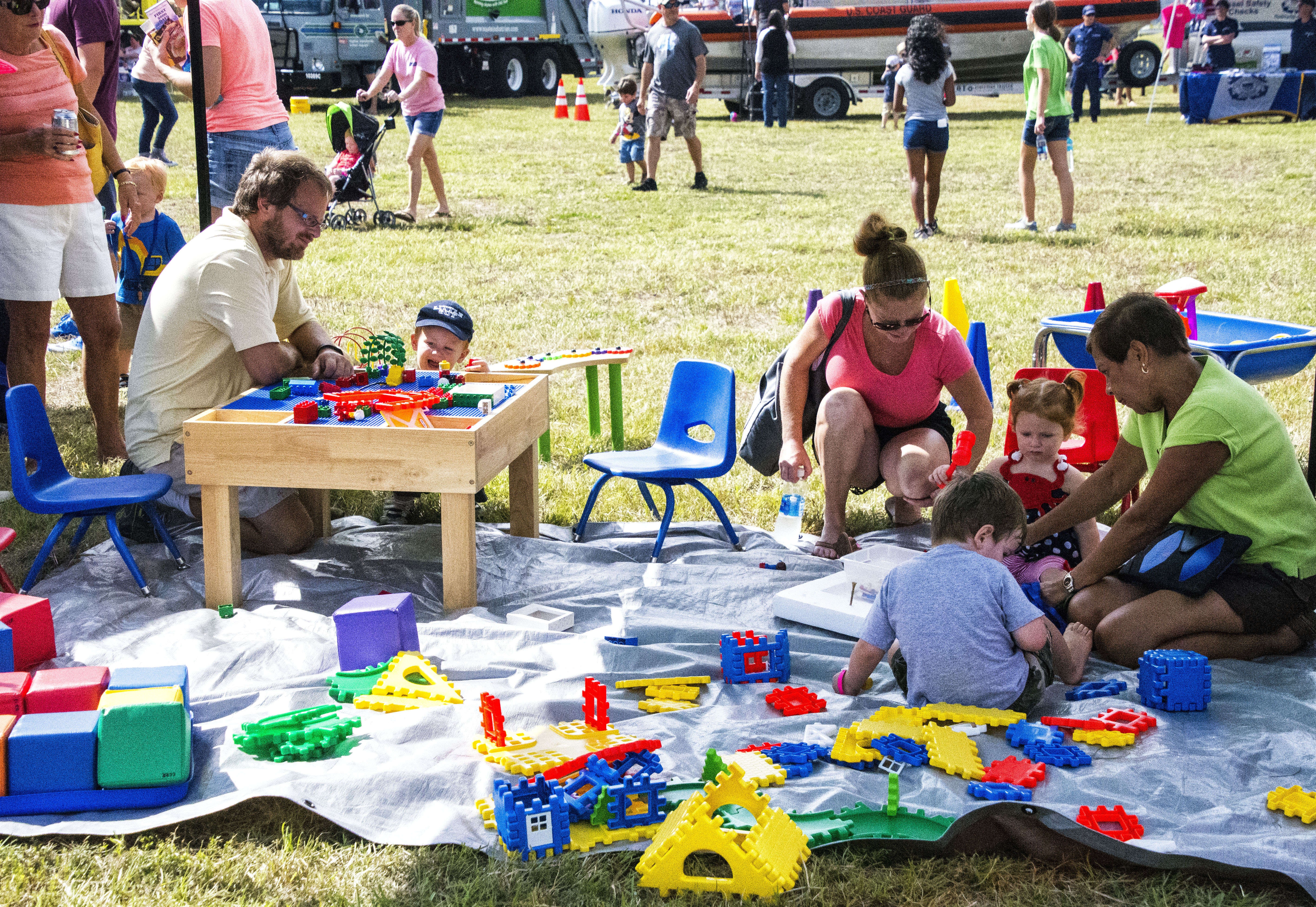 Southport Oak Island Kiwanis Club Big Toy Day