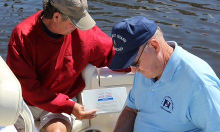 Coast Guard Auxiliary Flotilla Celebrates 50 Years of Serving the Area