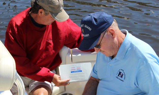 Coast Guard Auxiliary Flotilla Celebrates 50 Years of Serving the Area