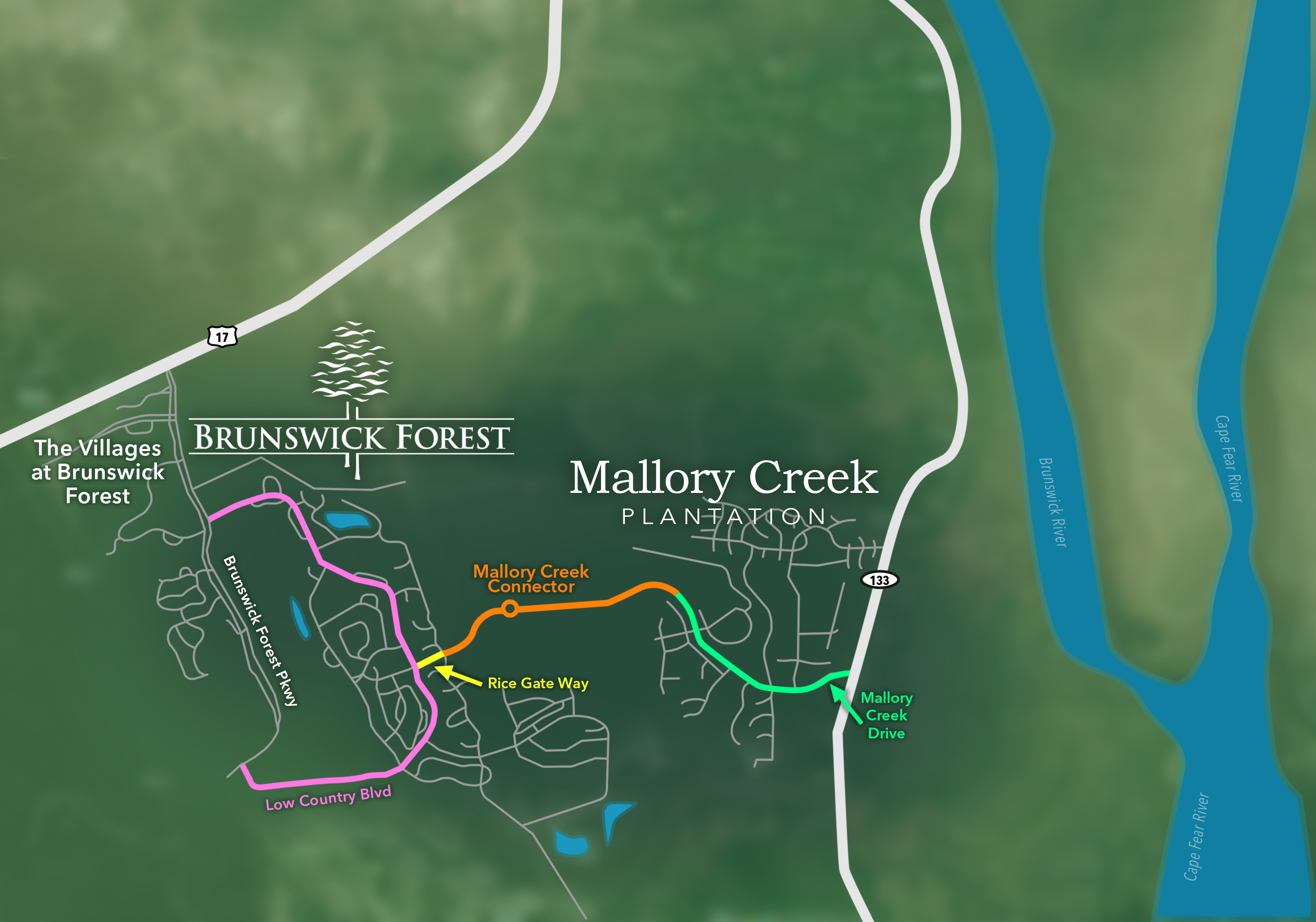 The Mallory Creek Connector in Leland, NC