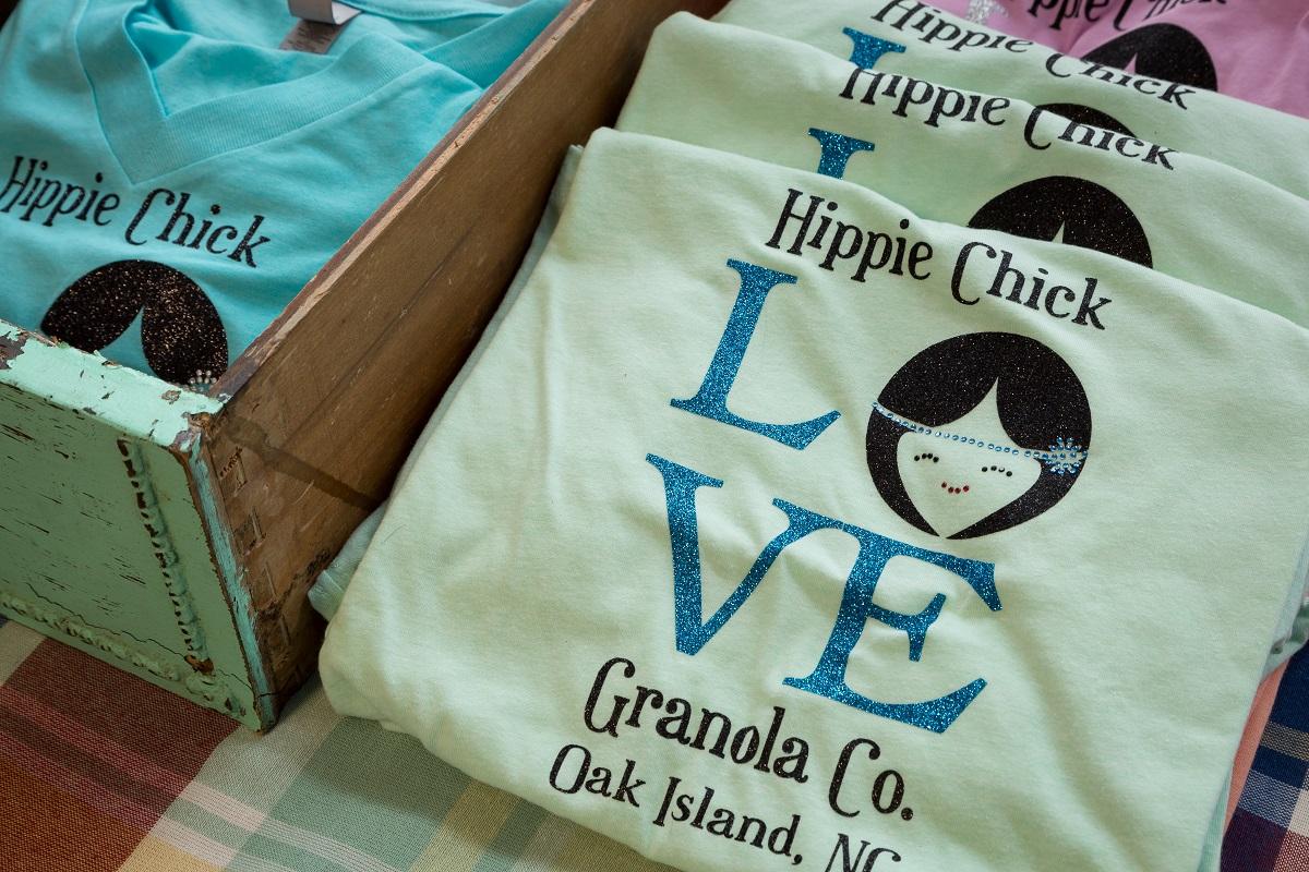 Hippie Chick Granola Oak Island