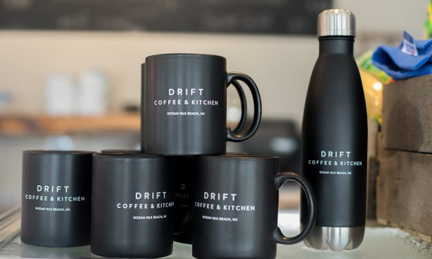 Drift Coffee & Kitchen in Ocean Isle Beach is a Dream
