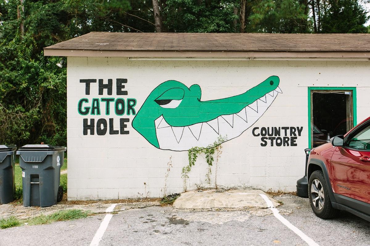 Gator Hole in Brunswick County NC