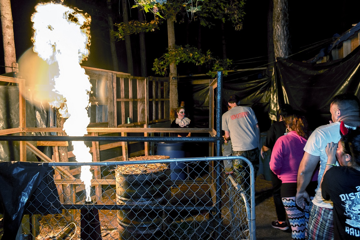 Grissettown Haunted Trail