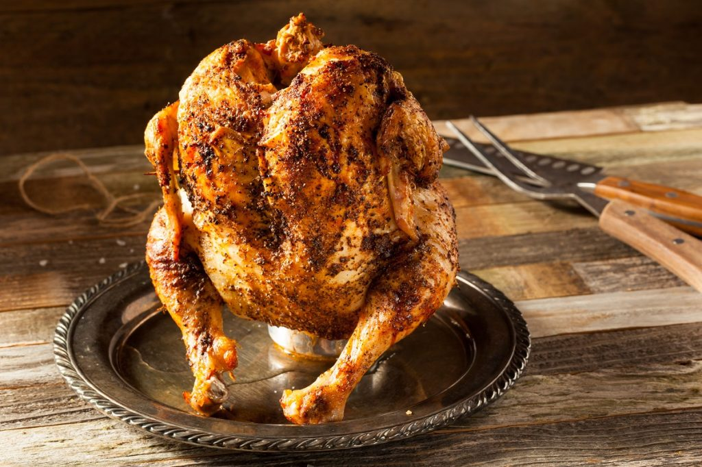 Southern Beer Can Chicken Recipe