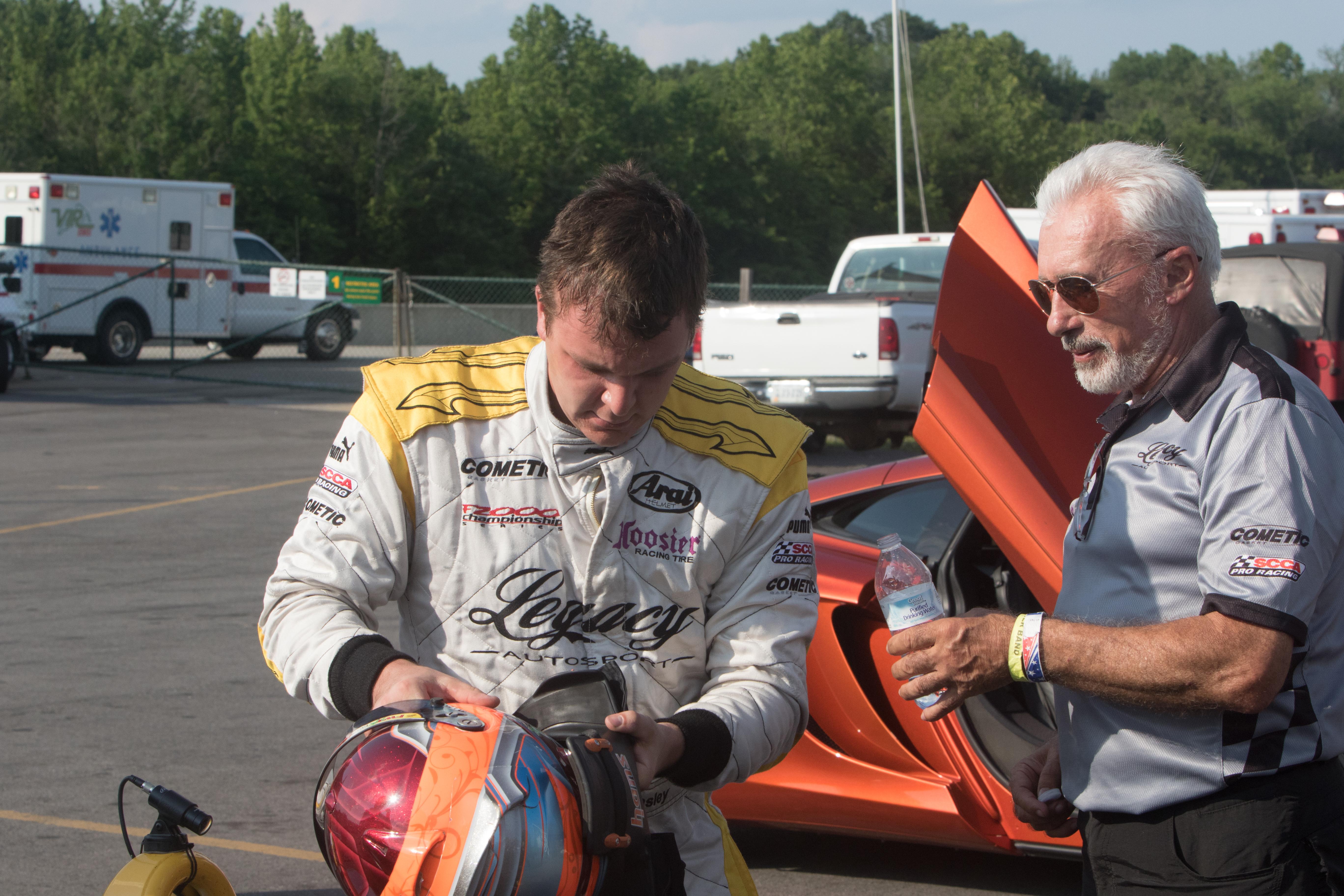 Tom Sedivy Southport Racecar Driver