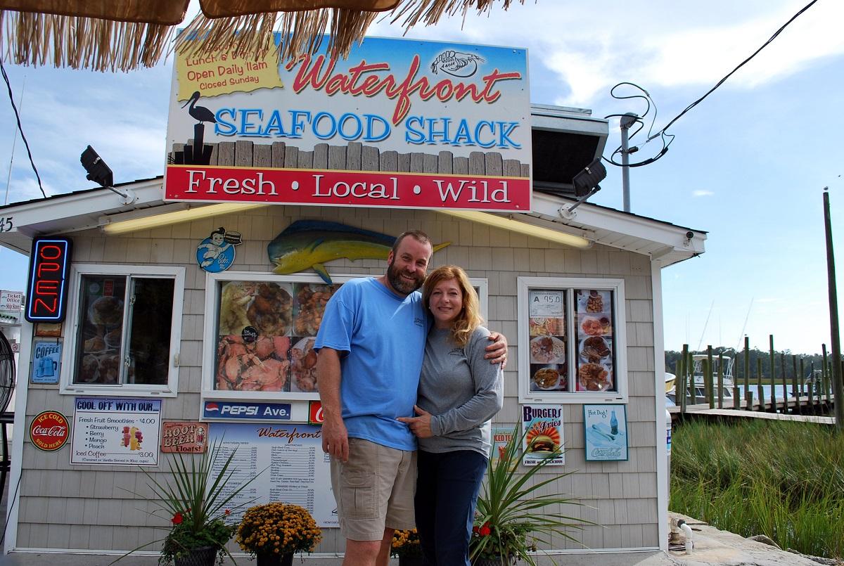 Waterfront Seafood Shack Calabash Bob and Serina Taylor