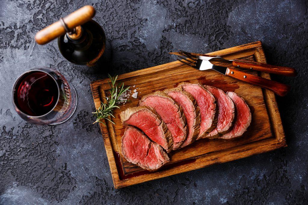 Grilled Bourbon Beef Tenderloin