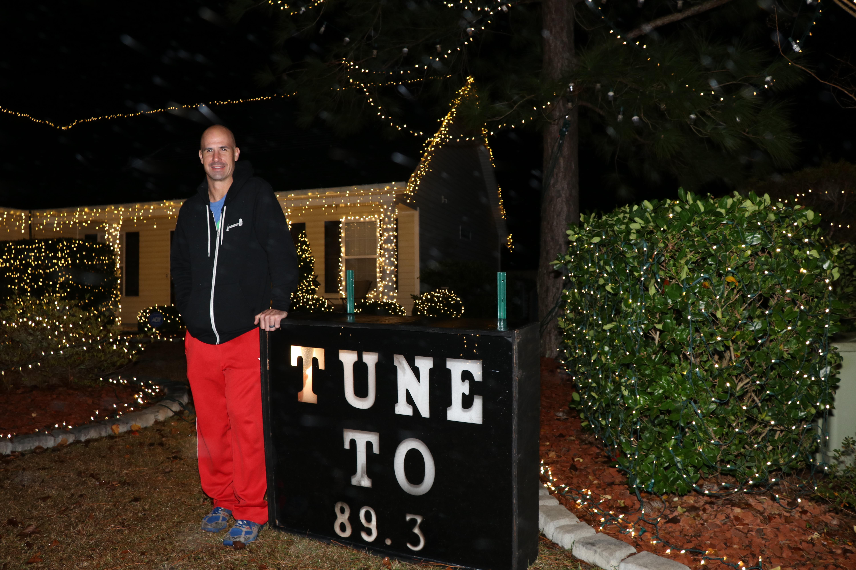 Aaron Talley Lightshow in Leland