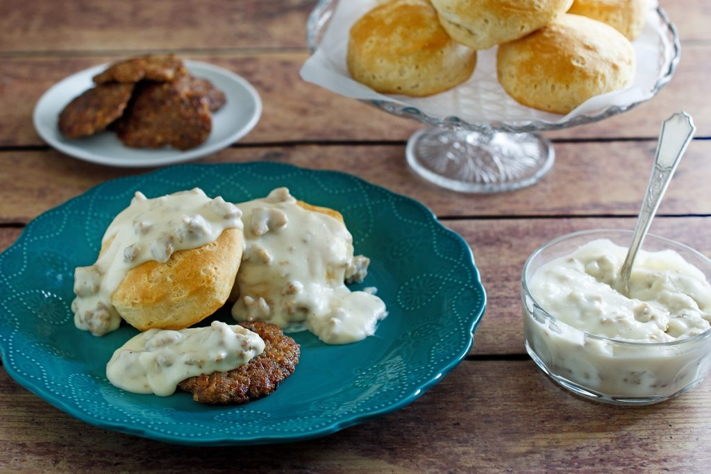 Southern Sausage Biscuits & Gravy Recipe