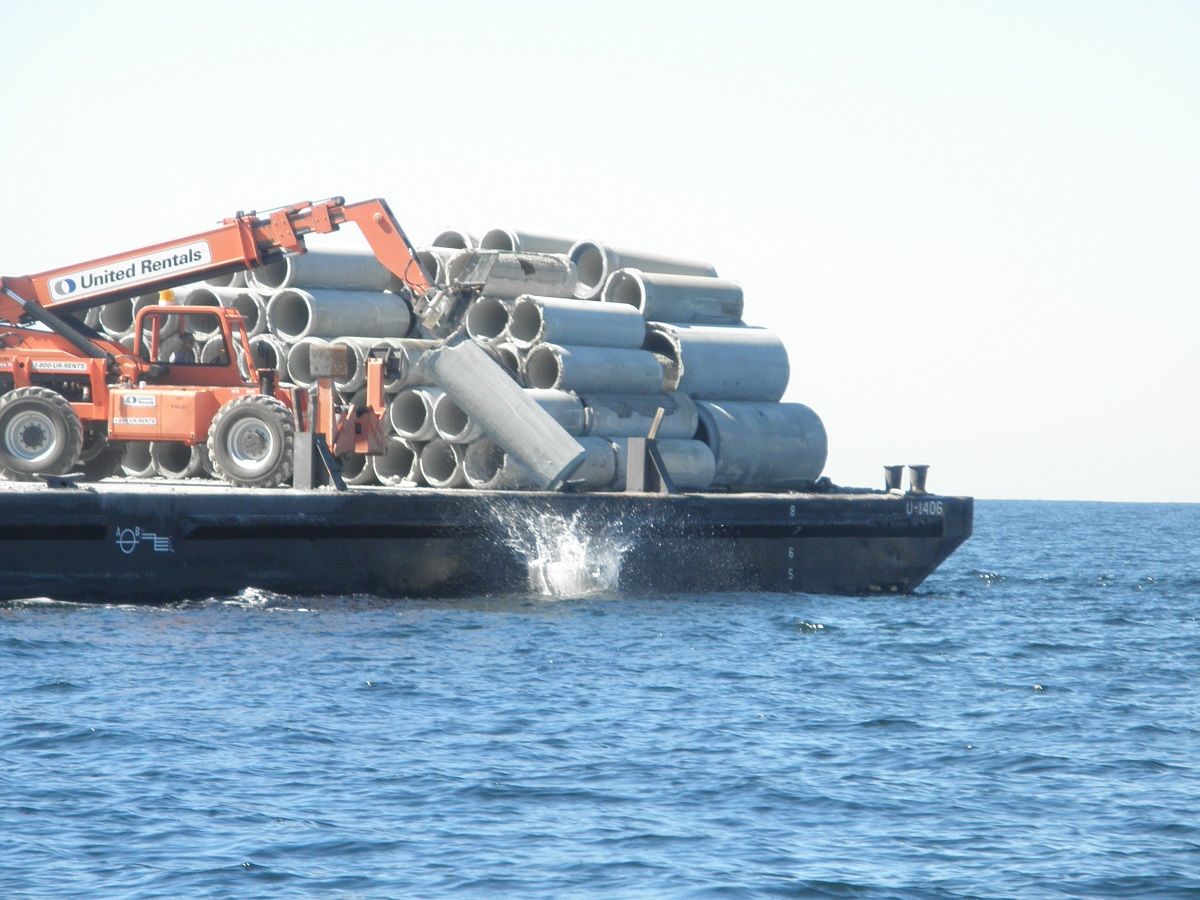 Artificial Reef Project Brunswick County