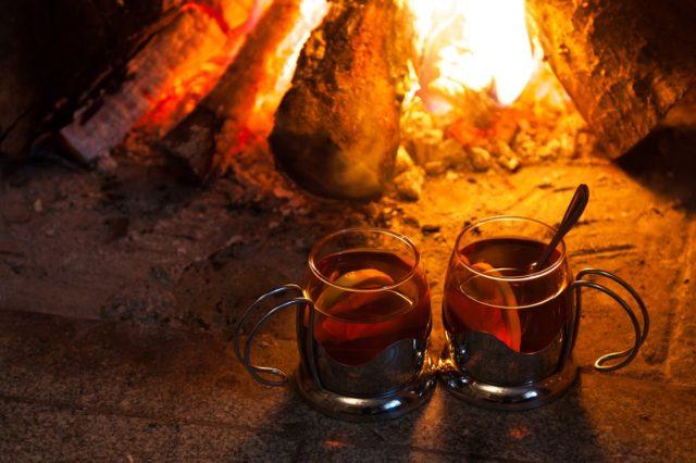 Warm Spiked Cider