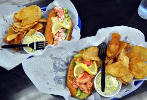 Dawg House Grill Too Lobster Rolls