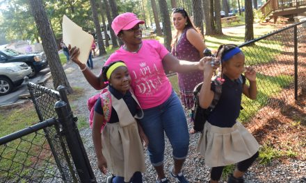 Charter Day School Unveils New Kindergarten Building on First Day of School