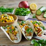Fish & Fruit Tacos