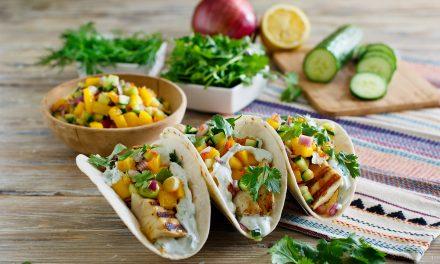 Fish & Fruit Tacos