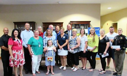 Knights of Columbus Gift Brunswick County Charities $35,000