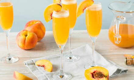 Peachy Vodka Brunch Punch