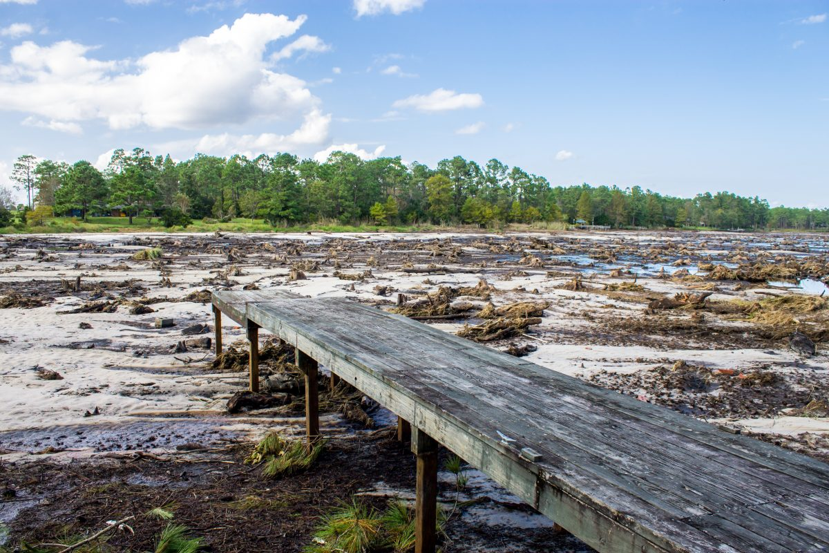 Boiling Springs Lake Hurricane Florence Damage