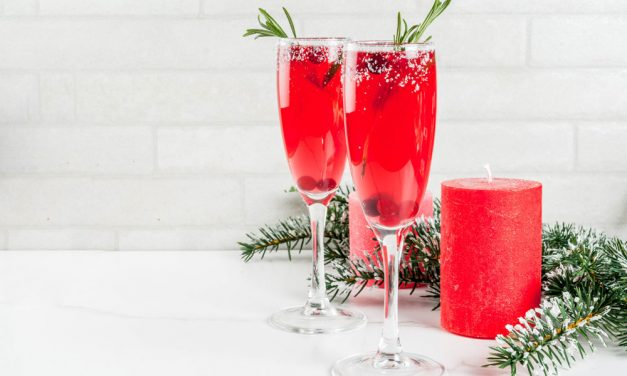Cranberry Mimosas Bring Bubbly Good Cheer