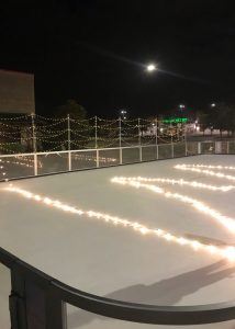 Outdoor Ice Rink at Mayfaire Wilmington North Carolina
