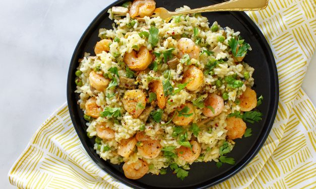 Creamy Shrimp Risotto