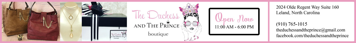 Sponsored by The Dutches and The Prince Boutique
