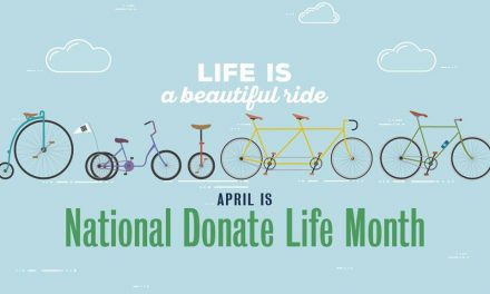 Seaglass Salvage Market Honors Donate Life Month