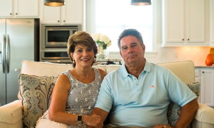 Residential Showcase: Sandy & Bernie Bisbey of Ocean Isle Beach