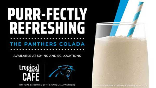 Panthers Colada Tropical Smoothie